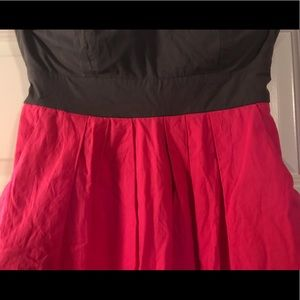 Forever 21 Dresses - Forever 21 gray and pink strapless dress
